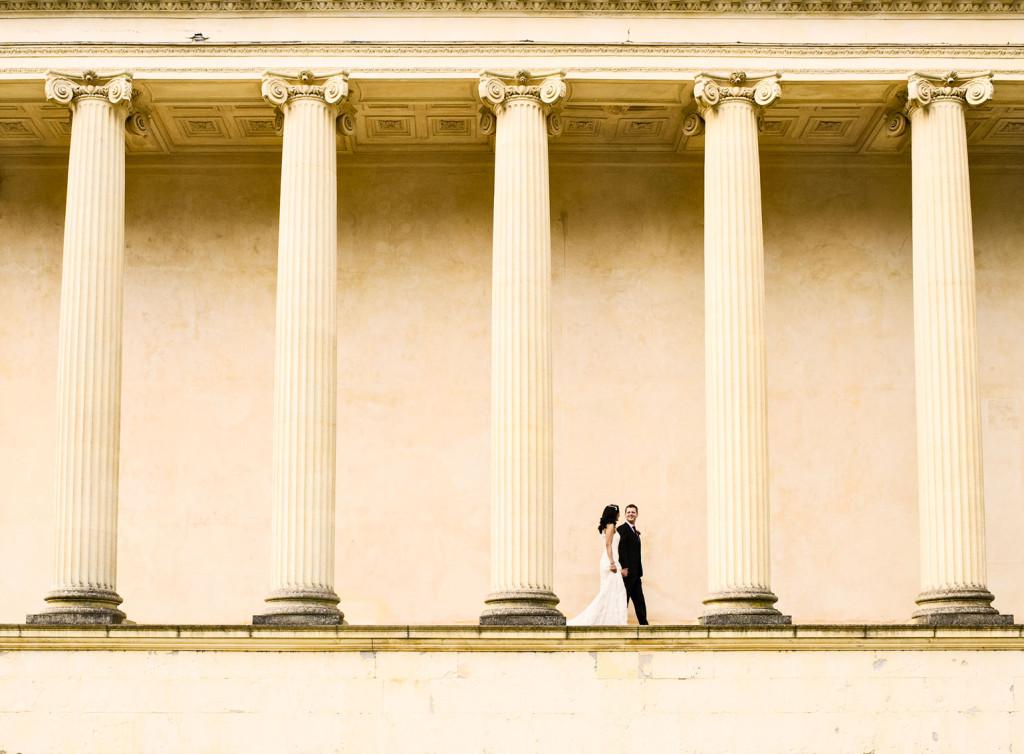 wedding photography Stowe Temple photo